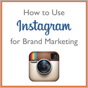 develop your business brand with instagram