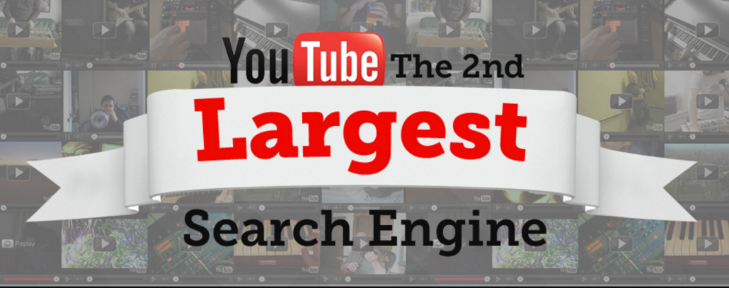 YouTube. It's The 2nd Largest Search Engine in the WORLD